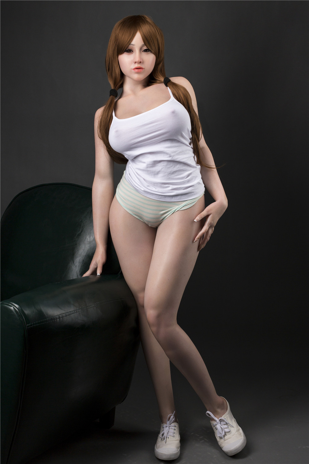 IL Doll 151cm(4.95ft) E-Cup Full Size lifelike Sex Silicone Doll with Head #13