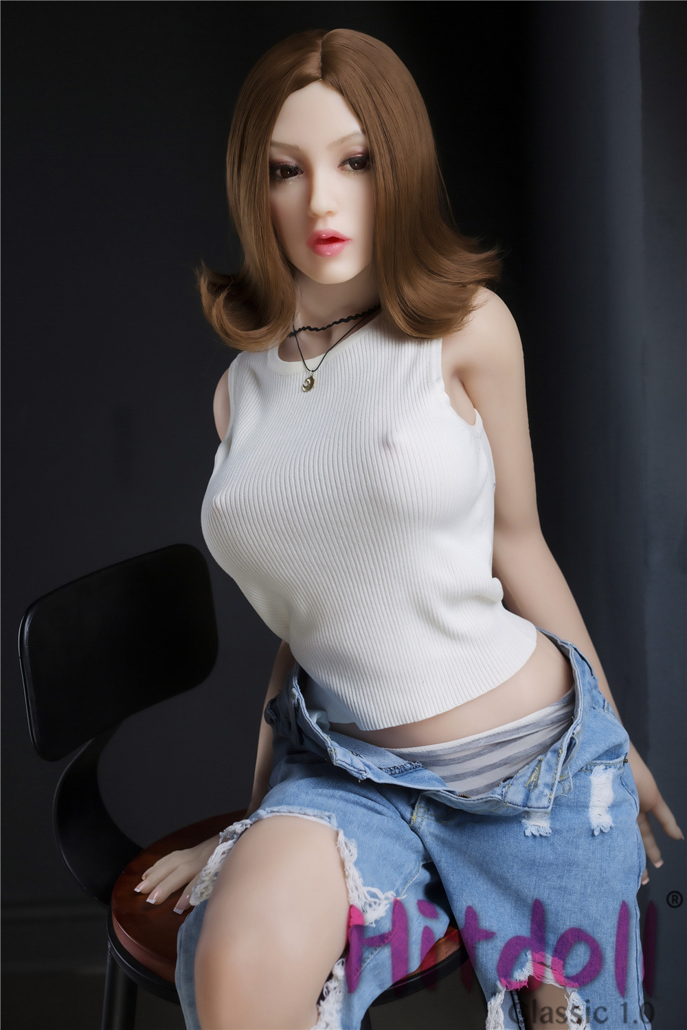 IL Doll 150cm(4.92ft) E-Cup Full Size lifelike Sex Silicone Doll with Head #15