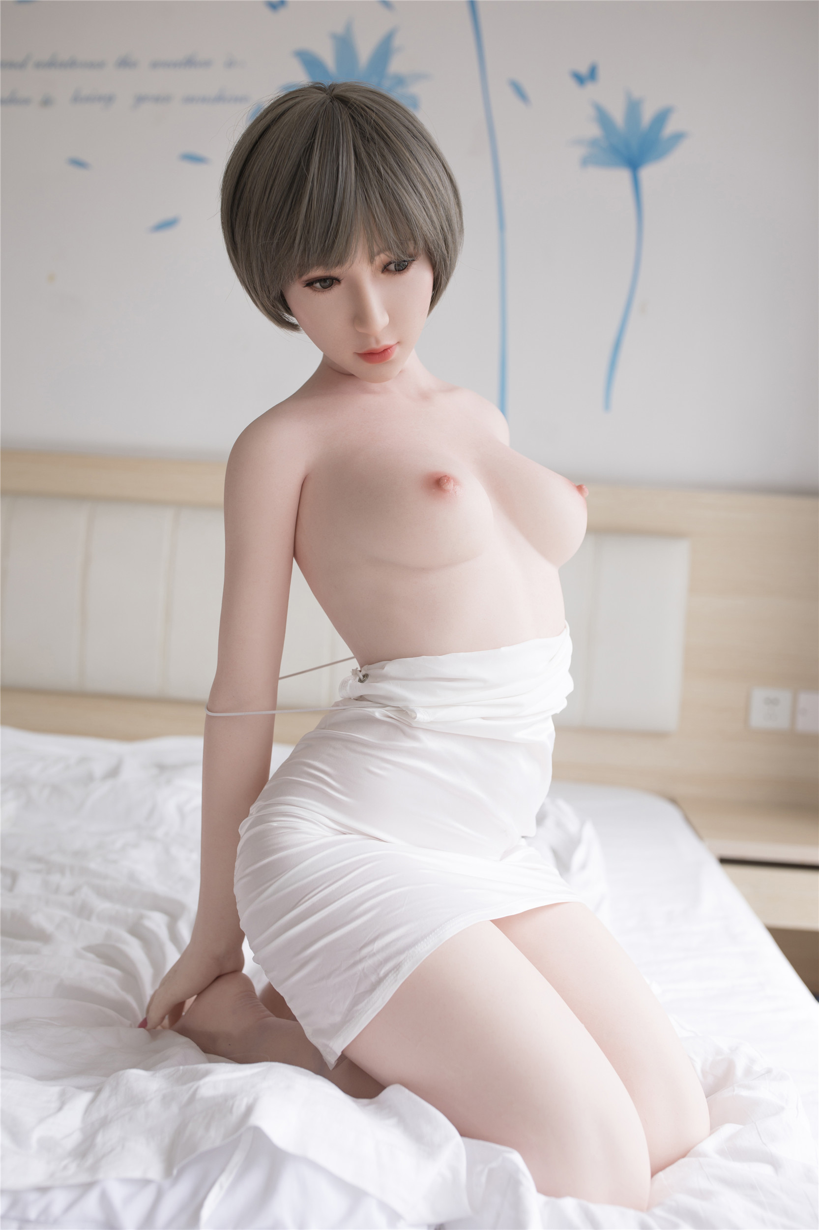 Art Doll Silicone Sex Doll 155cm/5.085ft B-cup with Head A2