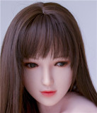 Art Doll Silicone Sex Doll 162cm/5.3ft C-cup with Head A1