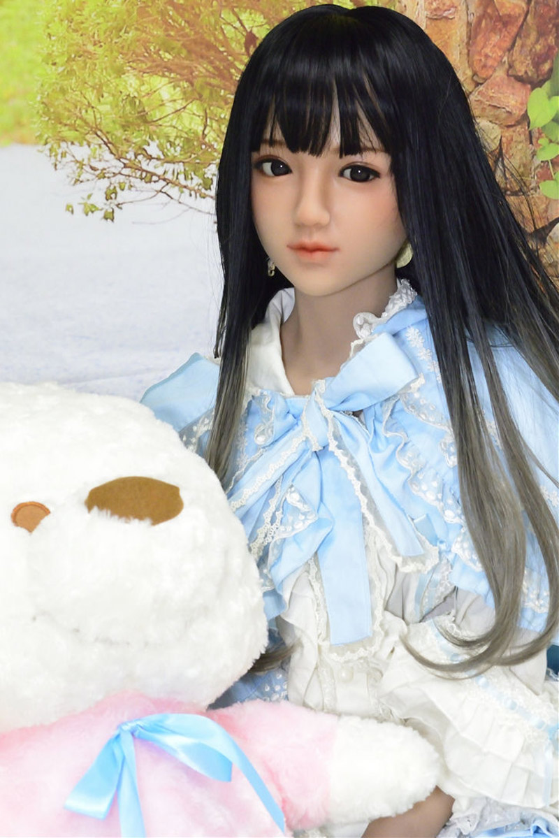 Sanhui Doll 145cm/4ft8 A-cup Silicone Sex Doll with Head #Yuki