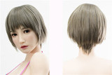 Top Sino Doll Silicone Sex Doll 150cm/4ft9 D-cup T10 Head Misi RRS Makeup Selectable