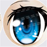 #11 eyeball of Aotume doll
