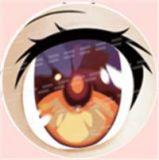#71 eyeball of Aotume doll