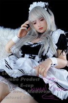 Top Sino Doll & Level-D combo Full Silicone Sex Doll 148cm/4ft8 E-cup Madoromi Head RRS Makeup Selectable