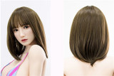 Top Sino Doll Full Silicone Torso 90cm/2ft9 F-cup T11 Head RRS Makeup Selectable