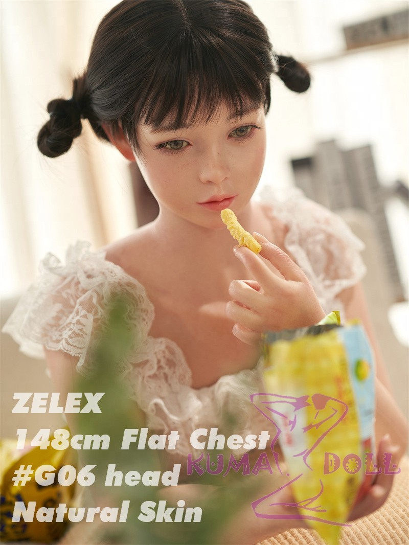 ZELEX Full silicone sex doll 148cm # G06 head