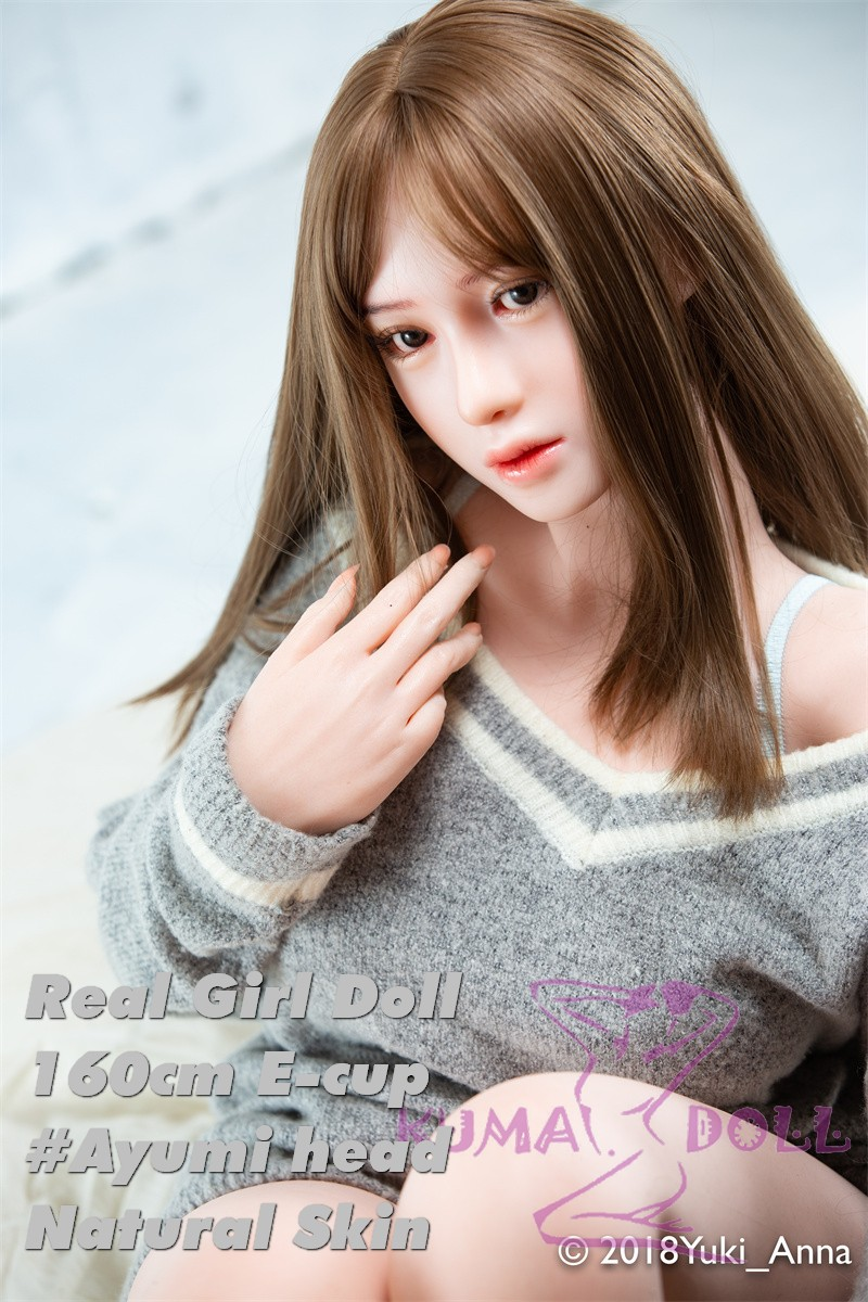 Real Girl Full Silicone Sex Doll 160cm/5ft3 E Cup #6Head Ayumi