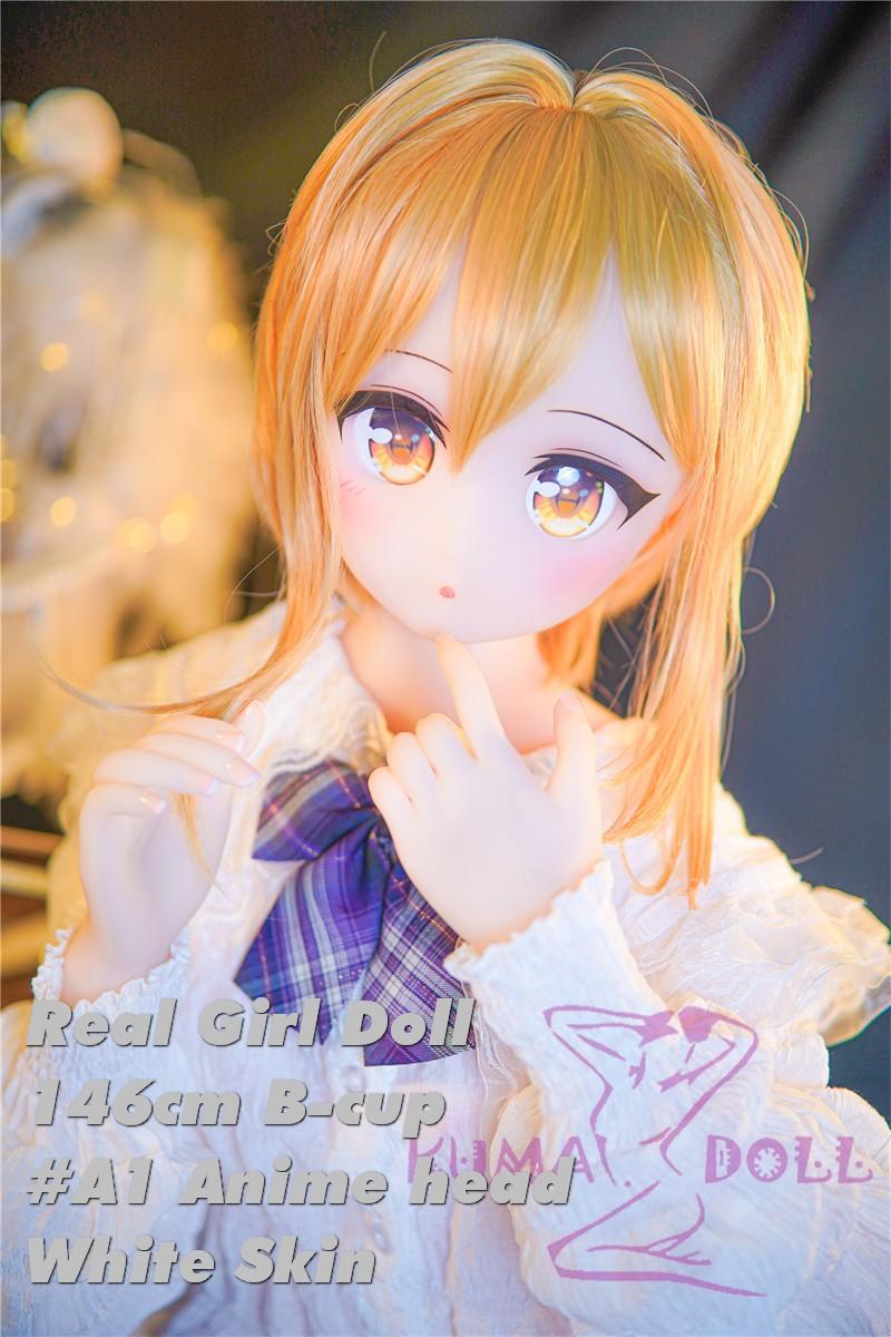Real Girl Anime style TPE love doll 146cm/4ft8 #A1 head