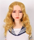 Sanhui Doll 145cm/4ft8 E-cup Seamless Neck NO.4 Silicone Sex Doll with Head #Mei