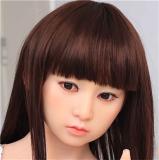 My Loli Waifu (abbreviated name MLW) Loli Sex Doll 145cm A-cup Yuna head TPE material body+head+makeup selectable