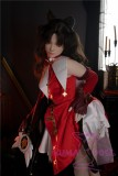 Image05 of AXB Doll TPE Material Love Doll 148cm/4ft9 A-cup with Head #154