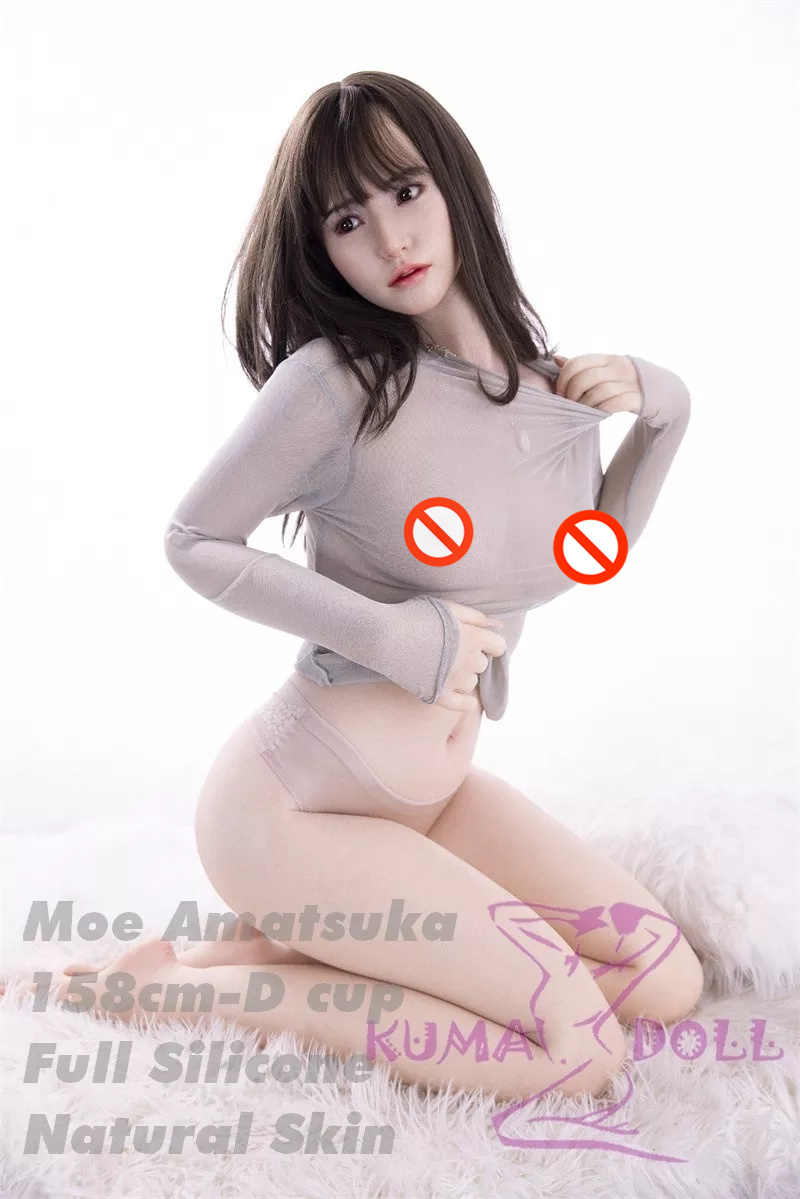 The first 100 customers will receive a certificate of authenticity with Moe Amatsuka's autograph] Full silicone sex doll (made by Sino doll) 158cm D-cup