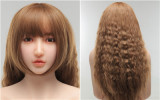 XYcolo Doll Full Silicone Sex Doll 153cm/5ft A-cup Mina head with full body super realistic makeup