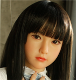 My Loli Waifu (abbreviated name MLW) Loli Sex Doll 145cm/4ft8 A-cup Haruto head TPE material body+head+makeup selectable