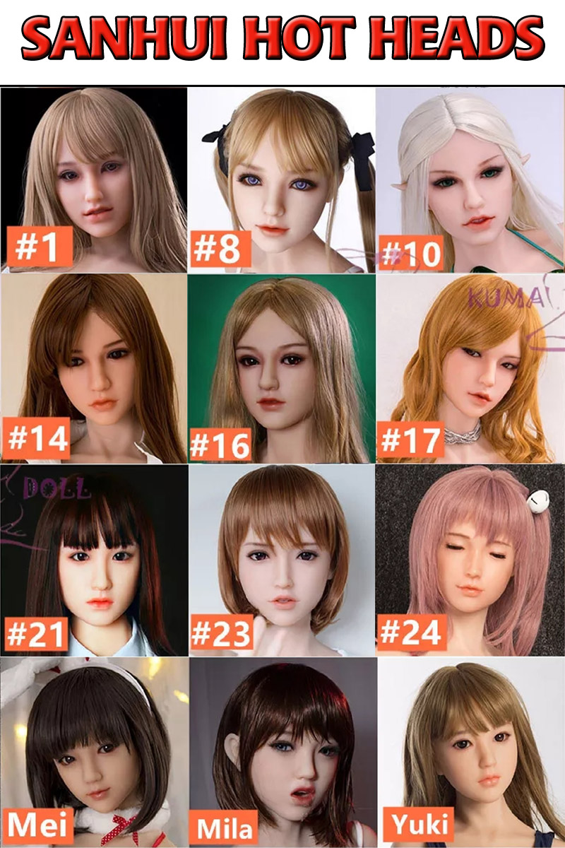 Sanhui Doll Heads Collection Page