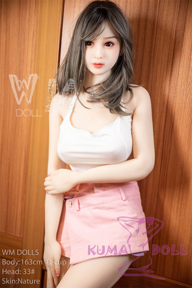 WM Doll TPE Material Love Doll 163cm/5ft3 D-Cup Doll with Head #33