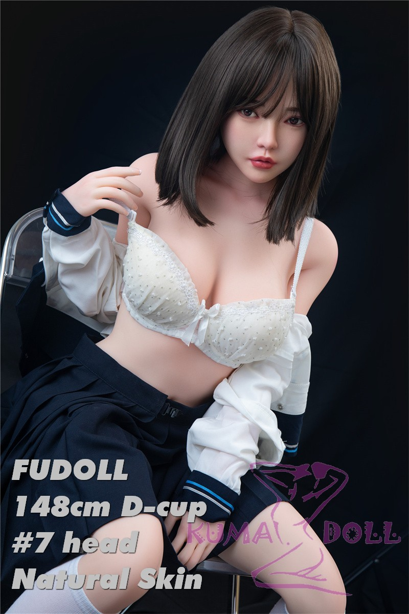 FUDOLL Sex Doll 148cm D-cup #7 head High-grade silicone head + TPE material body Height and other options