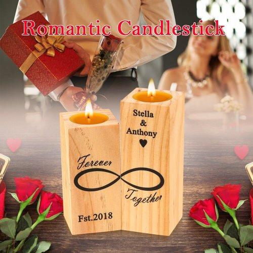 Wooden Candlestick Shelf Wonderful Decoration Gift