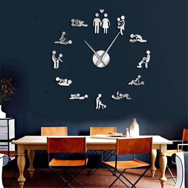 [HOT SALE 50% OFF]Creative DIY pointer digital fun wall clock