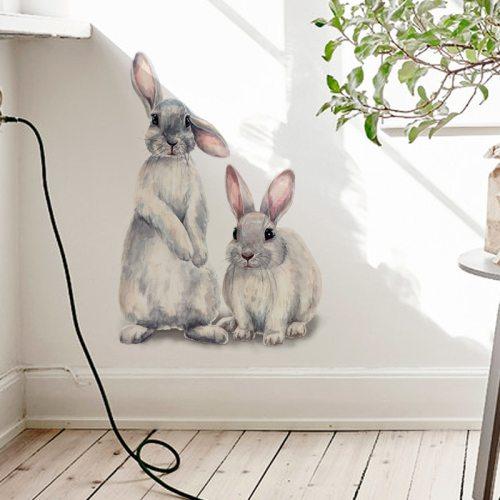 Cute Bunny Wall Sticker