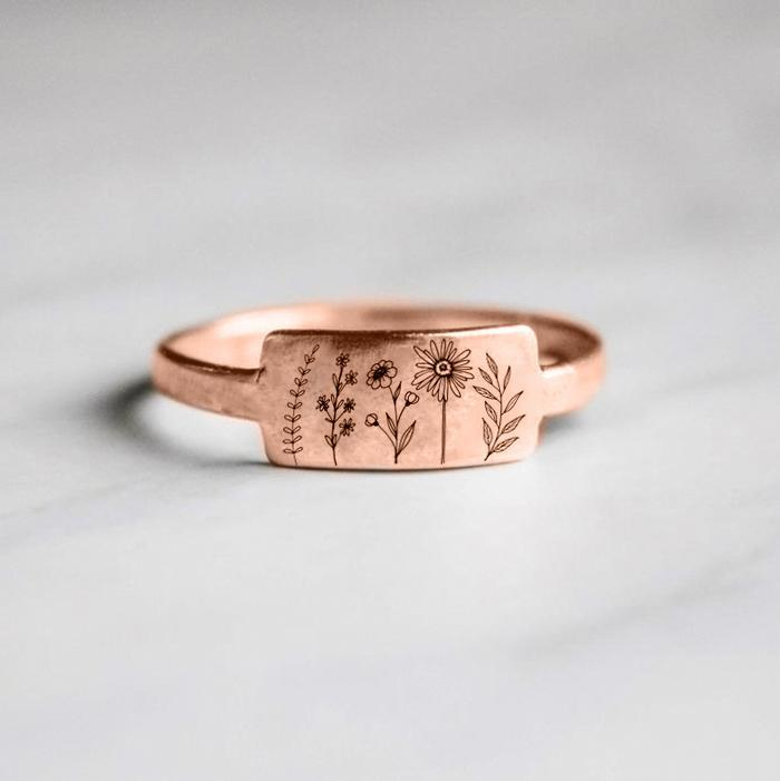 S925 Sterling Silver Wildflower Nature Ring-BUY 2 FREE SHIPPING