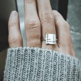 I Am Enough Ring Choose Joy Ring