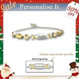 Granddaughter Bolo Candy Bracelet With Two Personalised Engravings