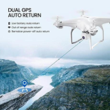 2021 LATEST 4K CAMERA ROTATION WATERPROOF PROFESSIONAL RC DRONE