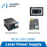 CO2 laser power supply 100W high quality laser cutting machine engraving machine