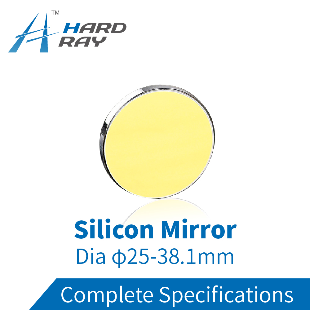 High Quality Si Reflective Mirror Dia.25mm-38.1mm for CO2 Laser Engraving Cutting Machine