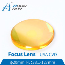 USA CVD ZnSe Focus Lens Dia. 20mm FL38.1-127 for CO2 Laser Engraving Cutting Machine Hot sale!