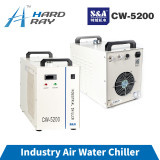 S&A CW5200 Industry Air Water Chiller for CO2 Laser Engraving Cutting Machine Cooling 150W Laser Tube