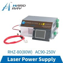 CO2 Laser Power Supply 80W Monitor AC90-250V for CO2 Laser Engraving Cutting Machine RHZ-80