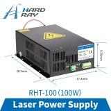 laser power supply 100W high quality laser cutting machine engraving machine RHT-100