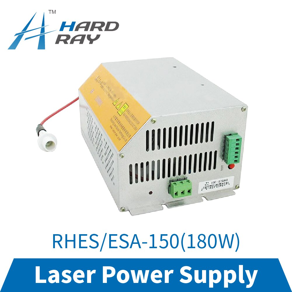 CO2 Laser Power Supply 150-180W for CO2 Laser Engraving Cutting Machine RHES/ESA-150