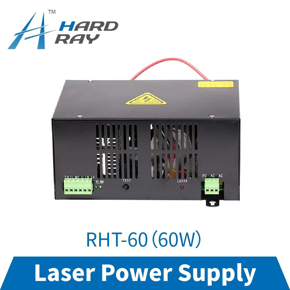 laser power supply 60W high quality laser cutting machine engraving machine RHT-60