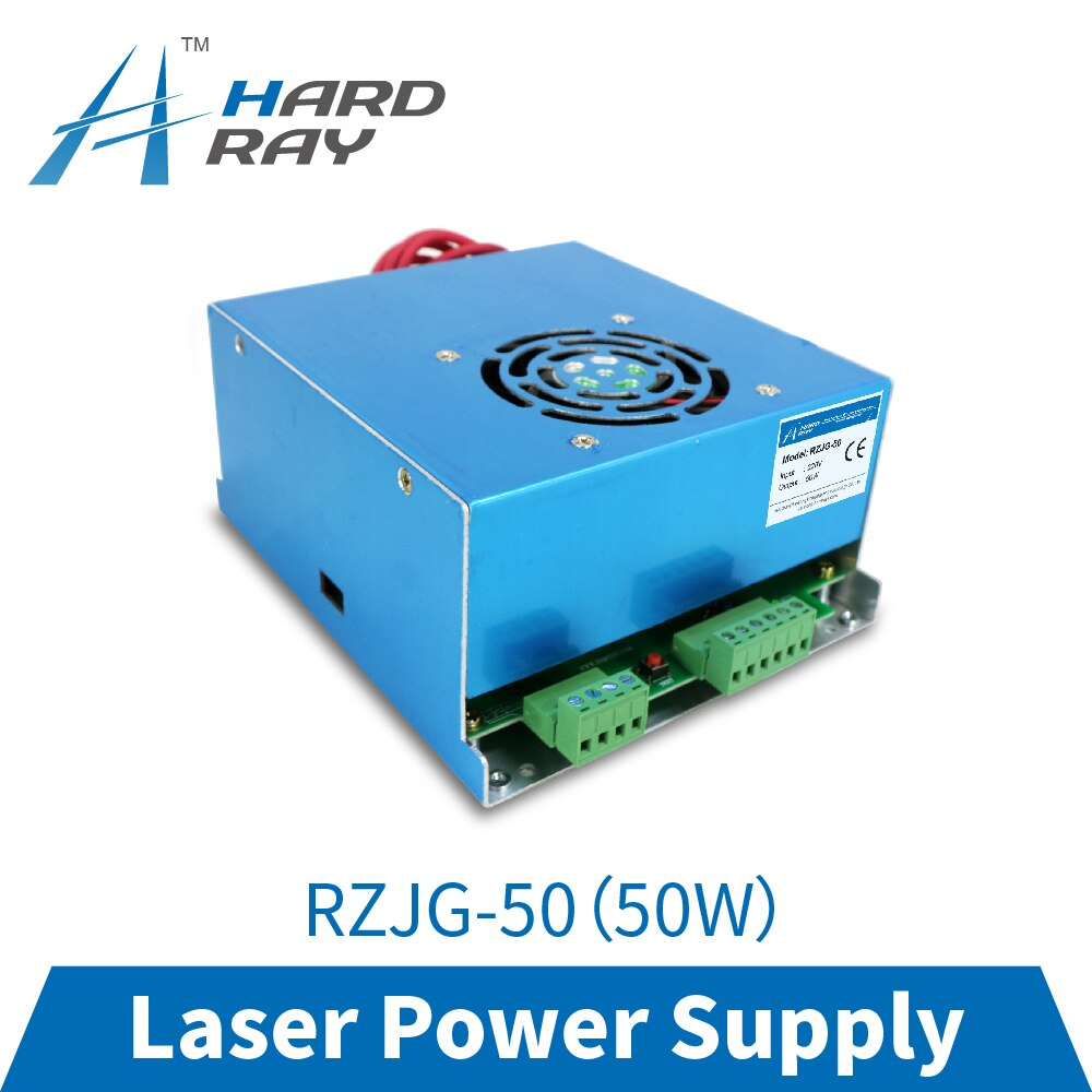 CO2 Laser Power Supply 50W for CO2 Laser Engraving Cutting Machine