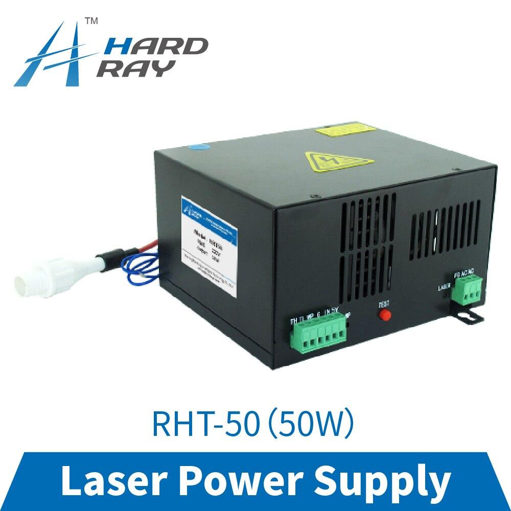 CO2 laser power supply 50W high quality laser cutting machine engraving machine RHT-50