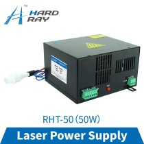 CO2 laser power supply 50W high quality laser cutting machine engraving machine RHT-50