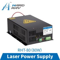 laser power supply 80W high quality laser cutting machine engraving machine RHT-80
