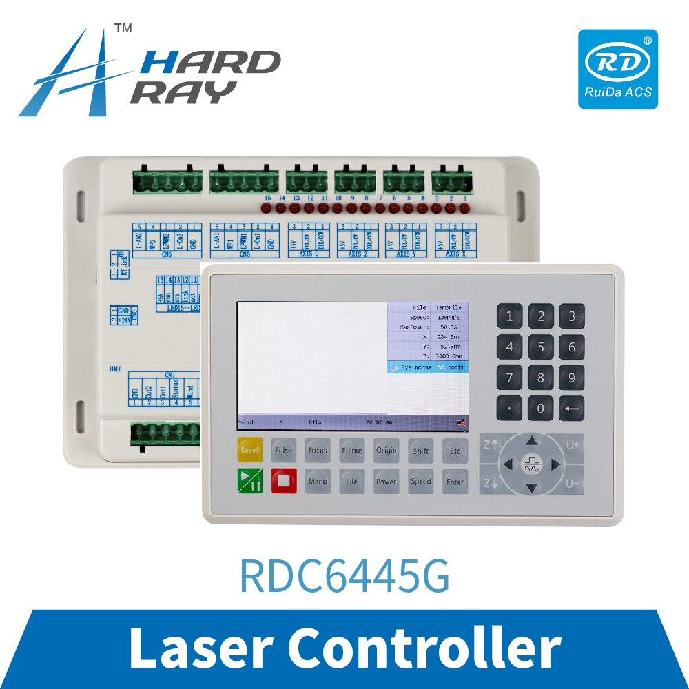 Ruida RDC6445G Controller for 4-axis Laser Engraving & Cutting