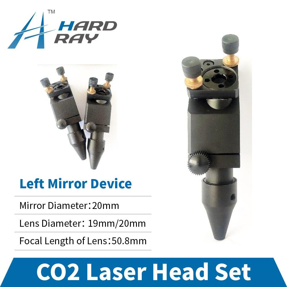 CO2 Laser Head Set / Left Mirror Device Diameter 20 and Lens Diameter 19 / 20 FL 50.8