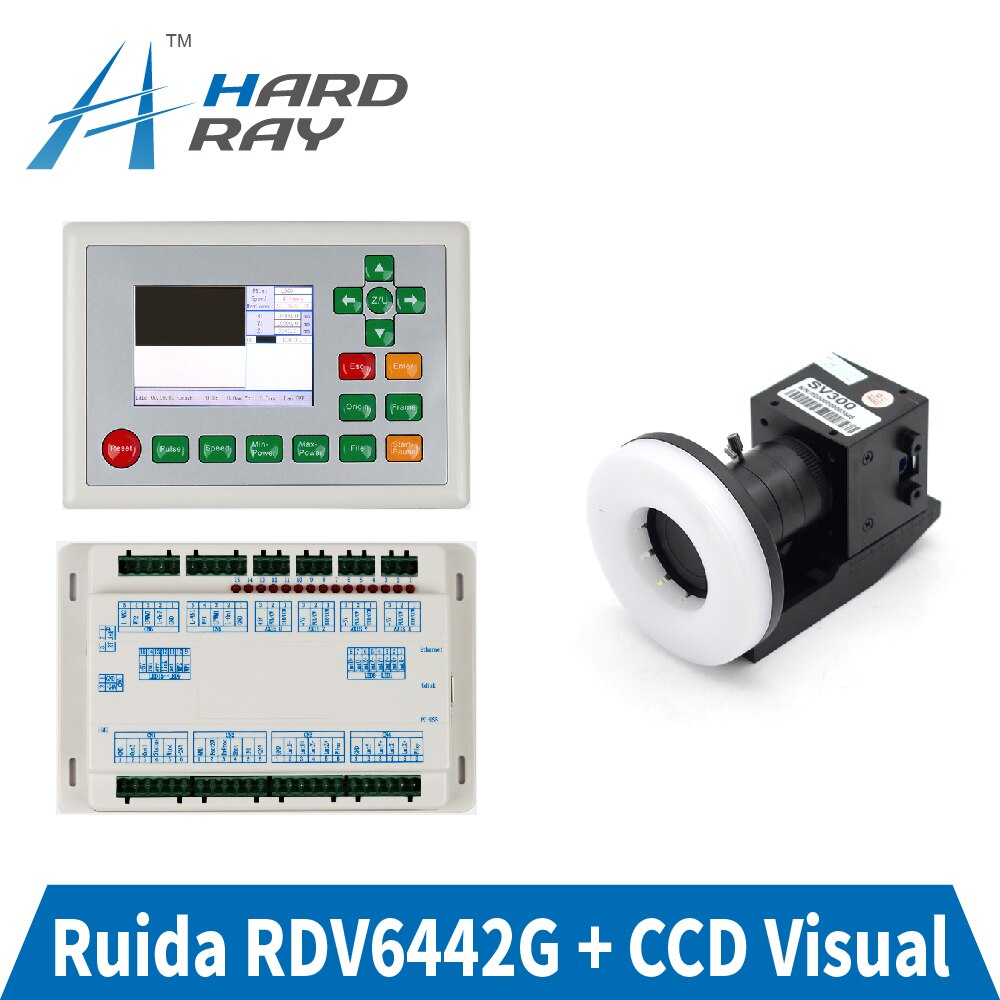 Ruida RDV6442G CCD Visual CO2 Laser Controller System For Laser Cutter Engraver Machine