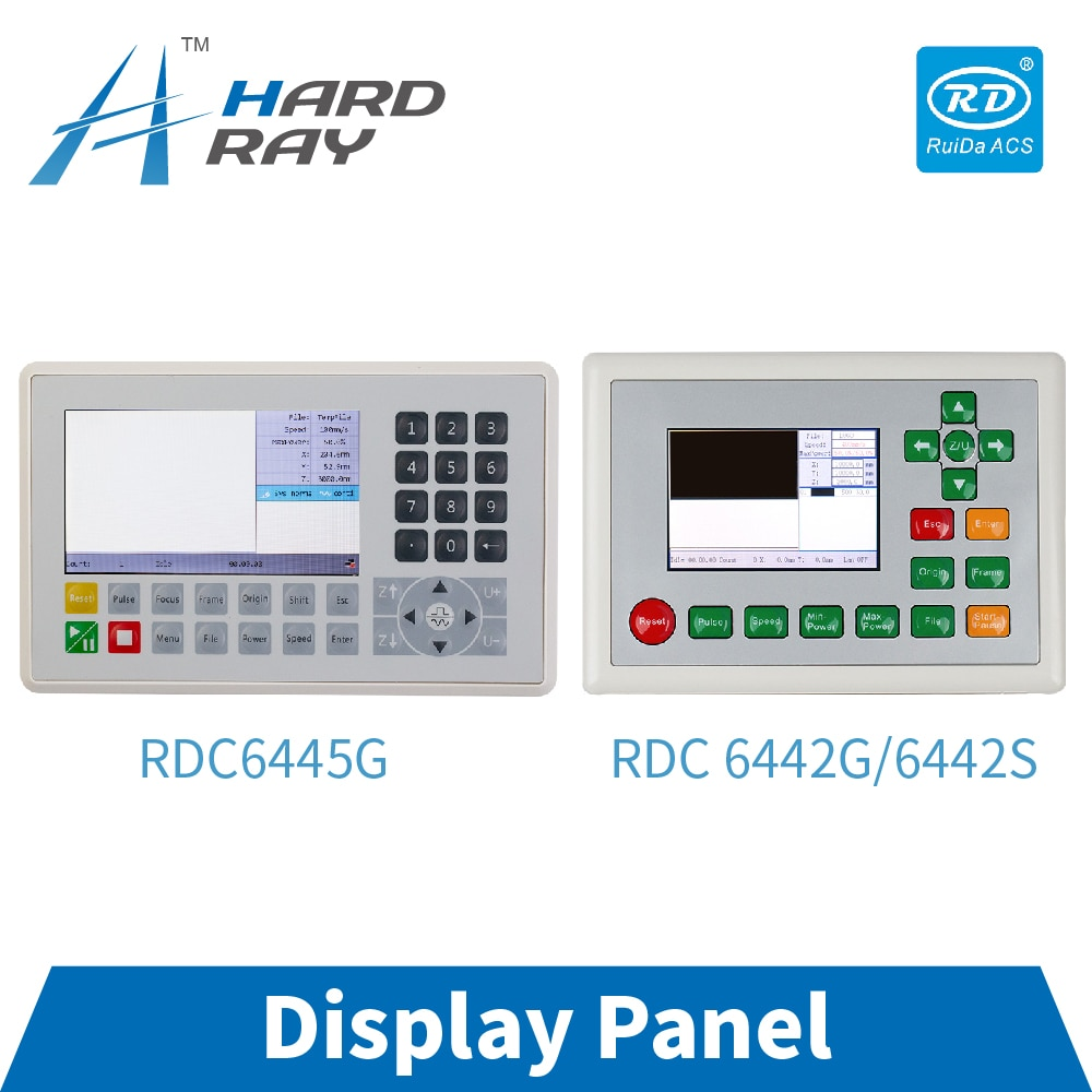 CO2 Laser Controller Panel for Ruida RDC6445G RDC6442S CNC Laser Cutting Machine Display Panel
