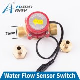 Water Flow Sensor Switch Meter Pressure Controller Automatic Circulation Pump Thread Connector Protect CO2 Laser Tube