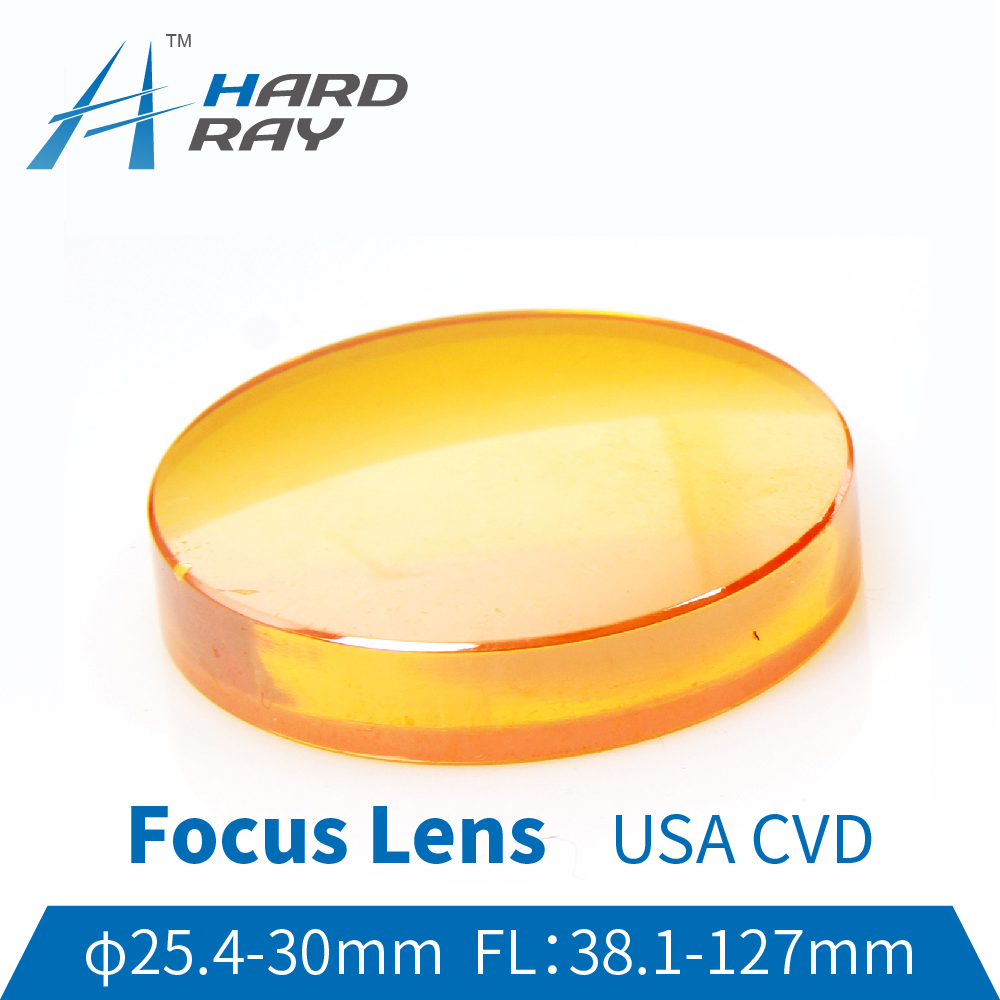 USA CVD ZnSe Focus Lens Dia. 25.4-30mm FL38.1-127mm for CO2 Laser Engraving Cutting Machine Hot sale!