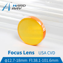 USA CVD ZnSe Focus Lens Dia.12.7-18mm FL38.1-101.6mm for CO2 Laser Engraving Cutting Machine