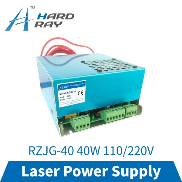 CO2 Laser Power Supply 40W for CO2 Laser Engraving Cutting Machine