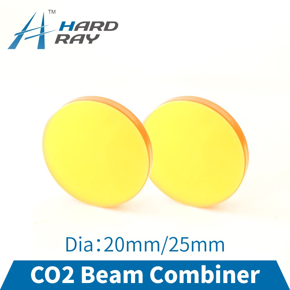 CO2 Laser Beam Combiner Lens Diameter 20mm 25mm to Adjust Light Path and Make Laser Visible